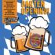 Biergarten Plakatwerbung gestaltet für Altöttinger Café